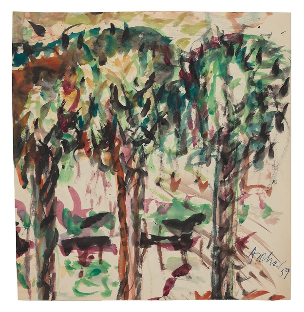 , 'Three Trees,' 1959, New York Studio School
