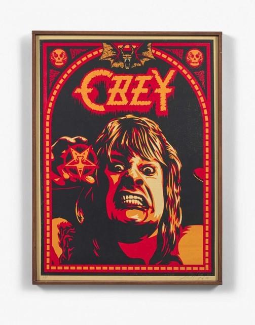 Shepard Fairey, 'Ozzy', 2001, NextStreet Gallery