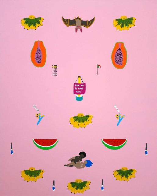 , 'Sin título (El murciélago) De la serie Cómase la fruta,' 2017, Celaya Brothers Gallery