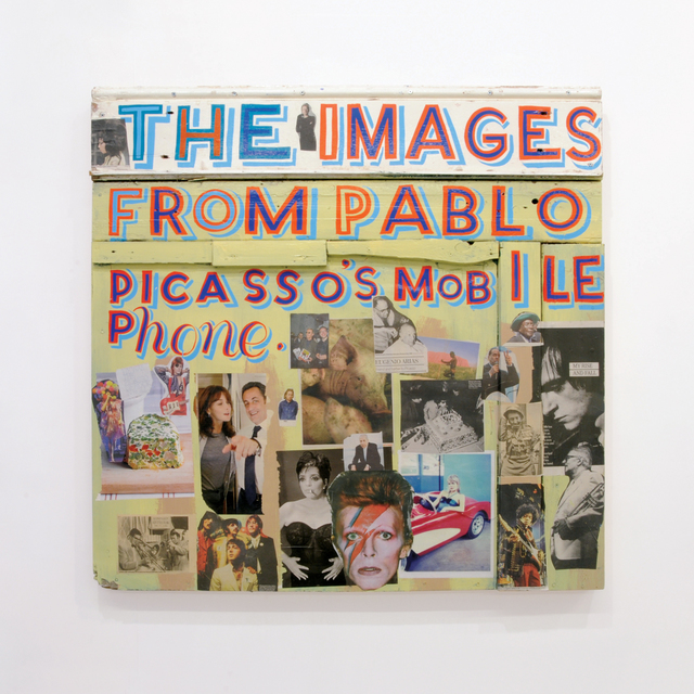 , ''The Images from Picasso's Mobile Phone',' 2008, Kusseneers