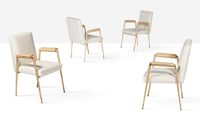 Jean Leleu, 'Set of 4 armchairs', 1962, Aguttes