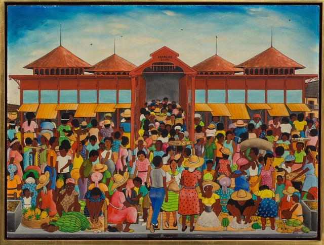 , 'Marché Clungy ,' 1960-1963, ZQ Art Gallery