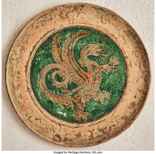 Irving Manoir, 'Dragon Plaque from the Rionam-Els series', Heritage Auctions