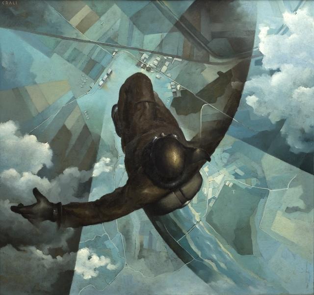 , 'Before the Parachute Opens (Prima che si apra il paracadute),' 1939, Guggenheim Museum