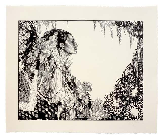 Swoon, 'Ice Queen', 2017, Woodward Gallery