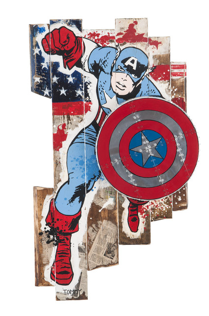 , 'Captain America,' 2015, Eden Fine Art