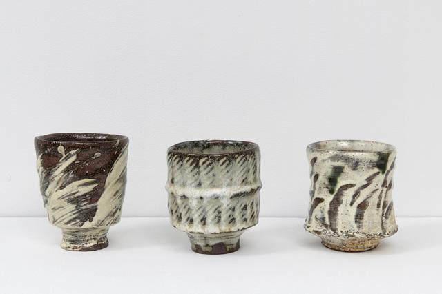 , 'Yunomi I, II, III,' 2017, Jane Hartsook Gallery