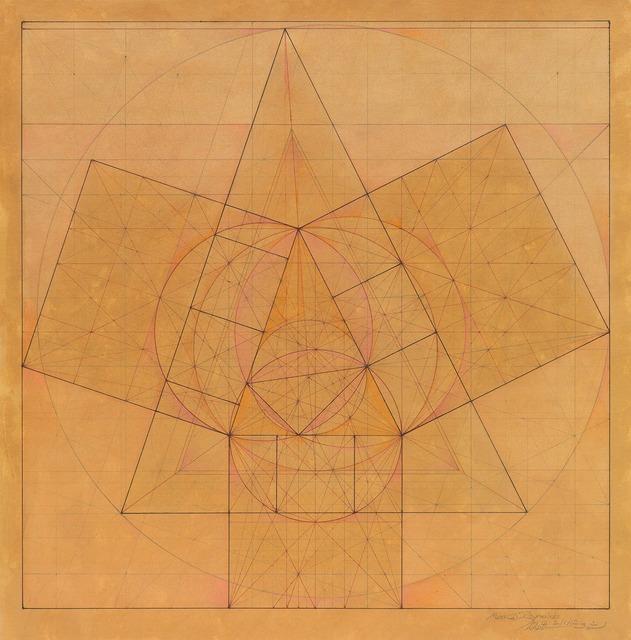, 'Minor Third Series: Nods to Pythagoras, 2.1.12,' 2012, Pierogi