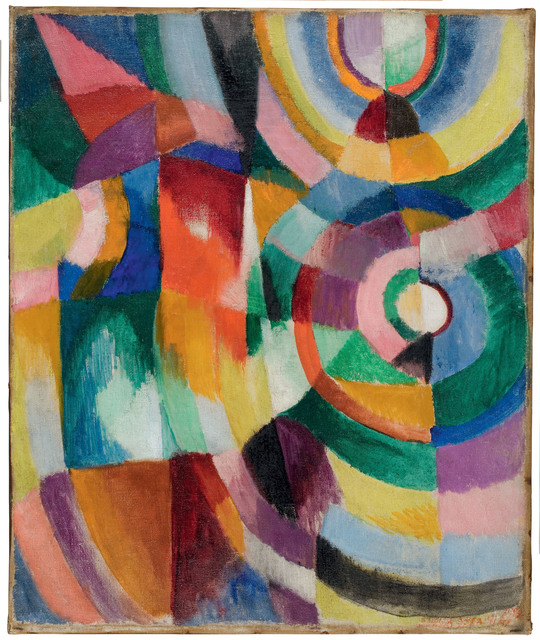 , 'Electric Prisms,' 1913, Tate Modern