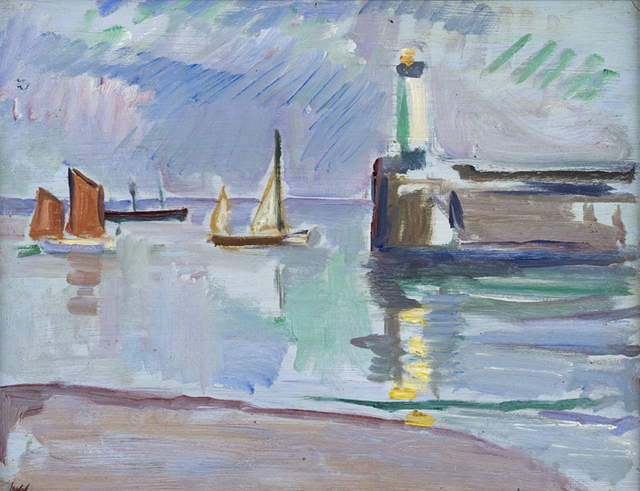 , 'The Mouth of the Harbour,' 1910, The Scottish Gallery