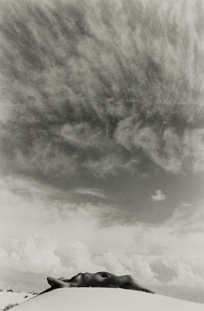 Lucien Clergue, 'Nude Under the Sky, White Sands Desert', 1986, Modernism Inc.
