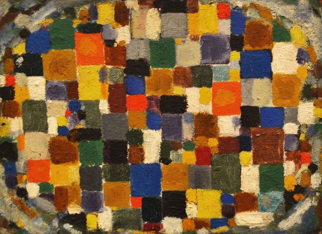 , 'Oval Mosaic [double-sided],' 1952, Bookstein Projects