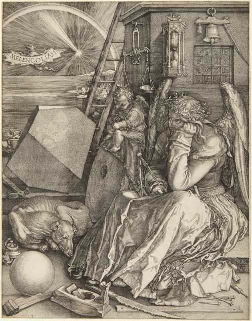 Albrecht Dürer, 'Melencolia I', 1514, Princeton University Art Museum