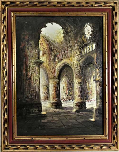 Fermín Santos Alcalde, ' Catedral de Toledo, Espana', ca. 1960, Joseph Grossman Fine Art Gallery