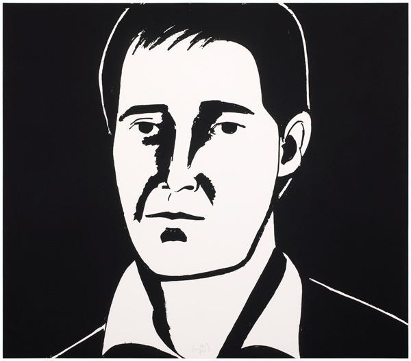 Alex Katz, 'Javier', 2013, Nikola Rukaj Gallery