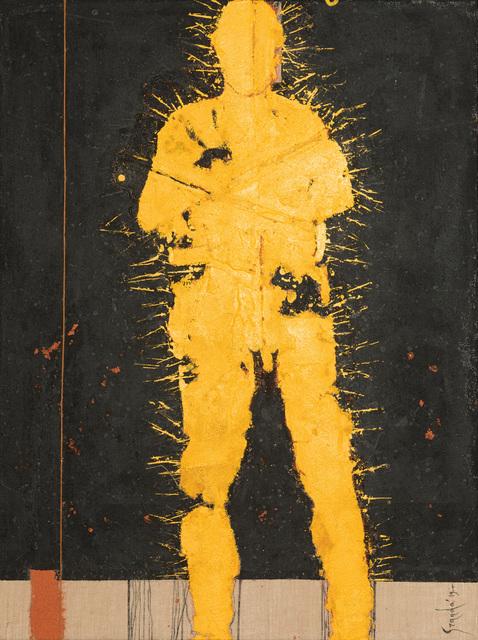 , 'Personaje Amarillo,' N/A, Galeria Oscar Roman