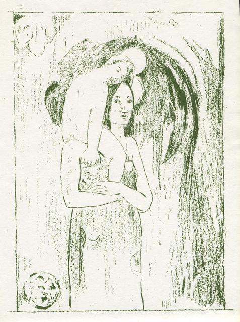 , 'La Orana Maria,' 1894, Woodward Gallery