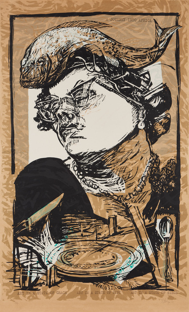 William Kentridge, 'Art in a State of Grace, from Art in a State of Siege', 1988, Phillips