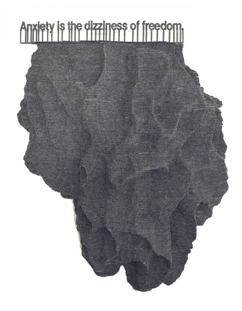 , 'Sentimental Seismographies (søren kierkegaard),' 2015, Diana Lowenstein Gallery