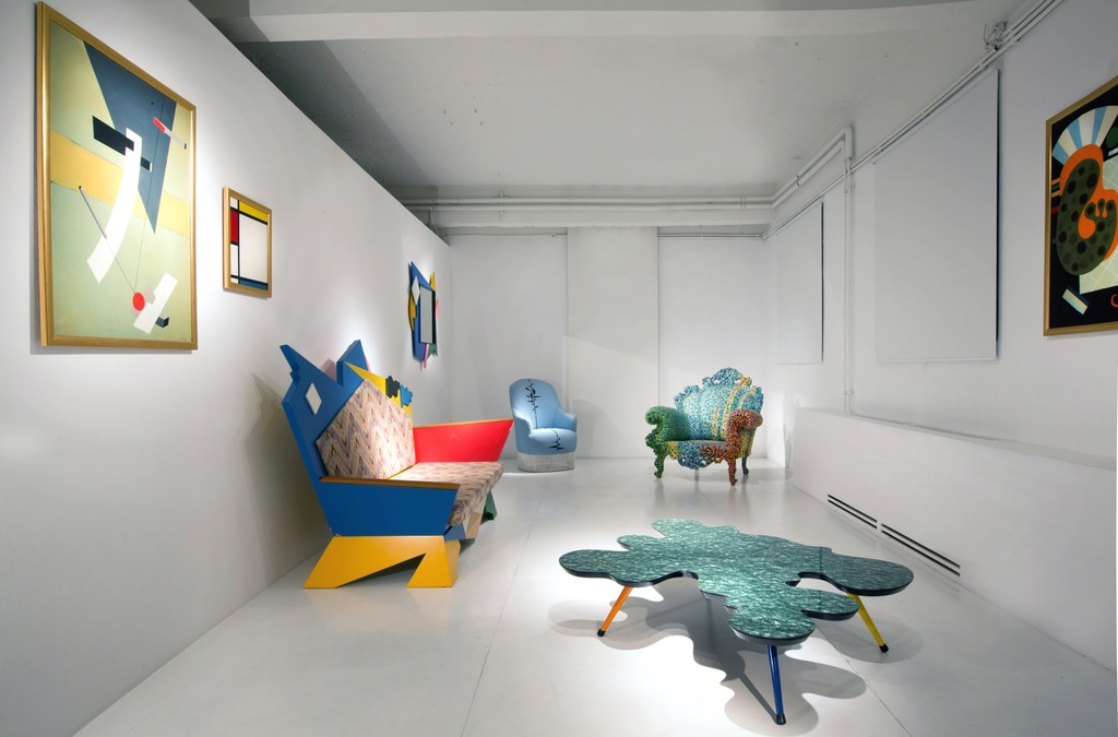 ammann//gallery goes ammann//projects © Alessandro Mendini, Andrea Branzi, courtesy ammann//gallery