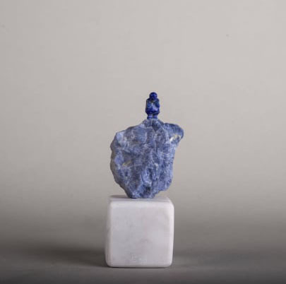 Bader Mahasneh, 'All Blue', 2020, Sculpture, Lapis & Sodalite, Orient Gallery