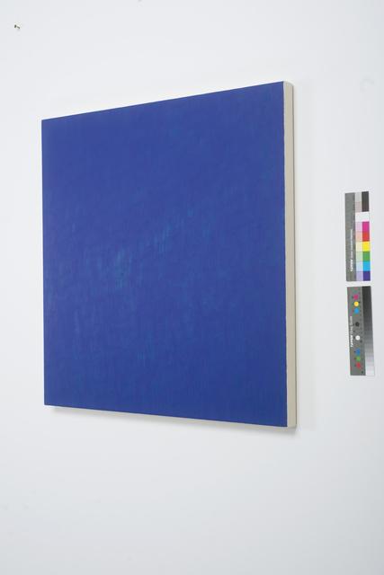 , 'Heliogen Blue,' 2000, CONRADS