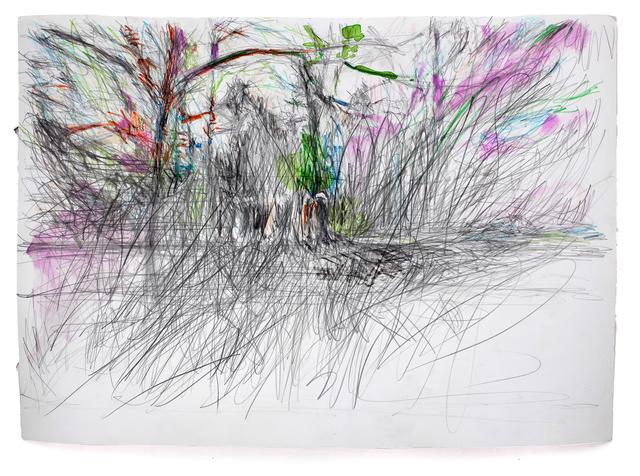Martin Dammann, 'Suchen 1', 2018, Drawing, Collage or other Work on Paper, In Situ - Fabienne Leclerc
