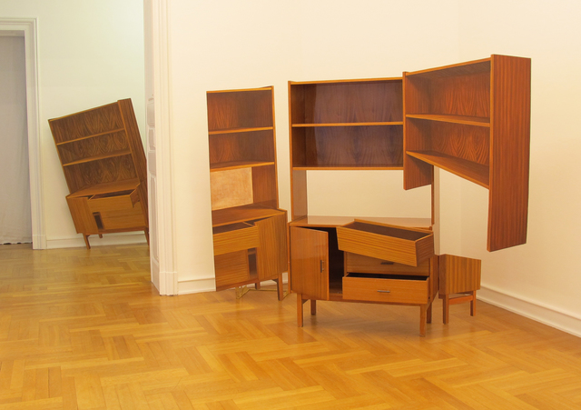 , 'Cabinet with Bedclothes Box from the Odra Set,' 2008, lokal_30