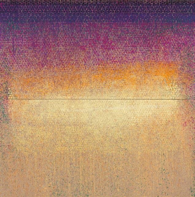", '""Nymphéas Zinzolin"",' 2017, Galerie Dutko"