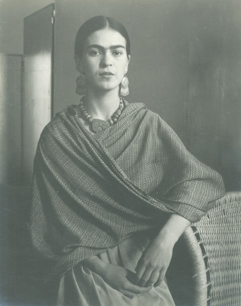 Frida (Standing by Basket)