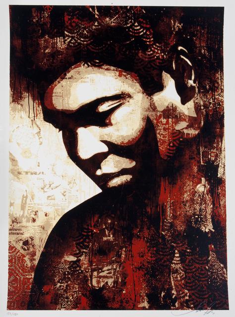 Shepard Fairey (OBEY), 'Ali', 2010, Julien's Auctions