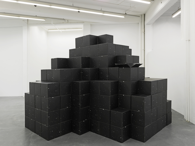 , 'folded into one,' 2012, Kunsthaus Baselland