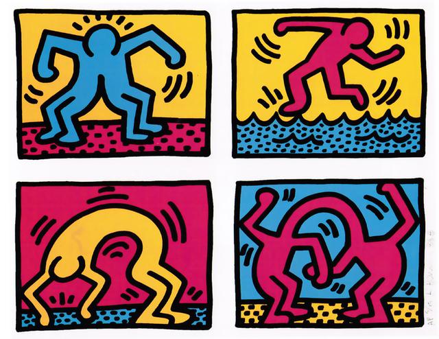 Keith Haring, 'Pop Shop Quad II', 1988, Taglialatella Galleries