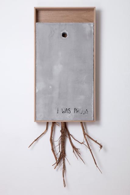 , 'I Was Proud (Rami) Diptych pt.1,' 2017, Lazinc