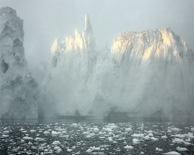""", 'Ilulissat Icefjord 6, 07/2003 69° 11'58"""" N, 51° 07'08"""" W,' 2003, Huxley-Parlour"""