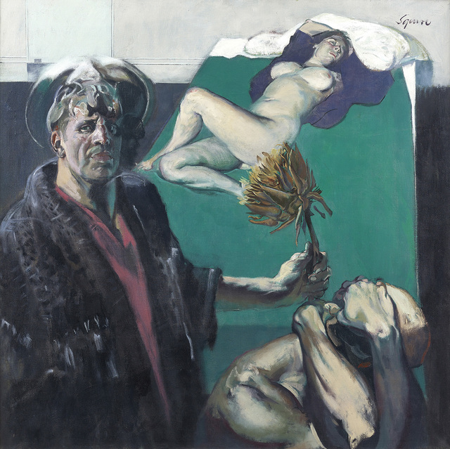 , 'Composition,' 1989, The Scottish Gallery