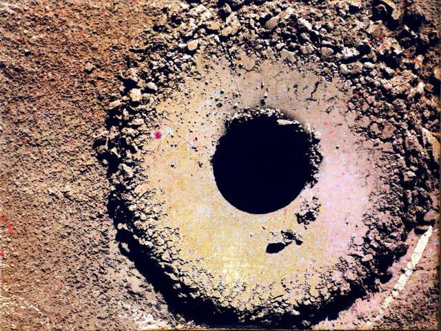 , 'Hole, Sol 1361 (Site 52, 2280),' 2016, Kent Fine Art