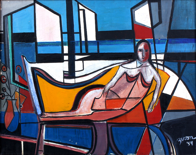 , 'Reclining Figure,' 1954, Benjaman Gallery Group