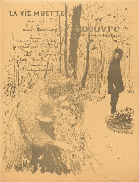 Édouard Vuillard, 'La Vie muette', 1894, National Gallery of Art, Washington, D.C.