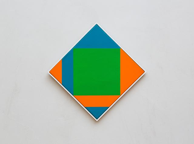, 'nucleo verde,' 1971, Galerie Knoell, Basel