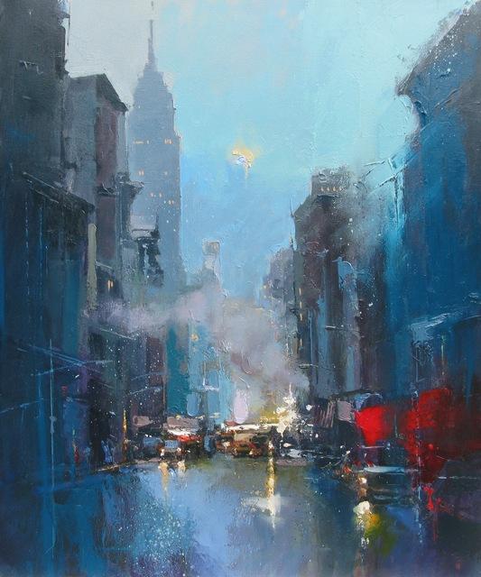 , 'Evening Falls, New York,' 2019, Thompson's Galleries