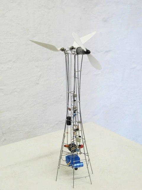 , 'Hommage à Panamarenko | weiße Flügel,' 2010, DAM Gallery