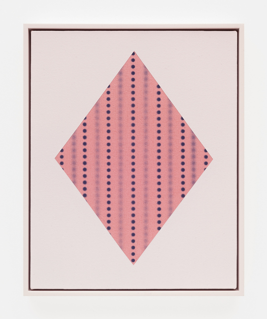 , 'Diamond with dots (Pink),' 2018, DOCUMENT