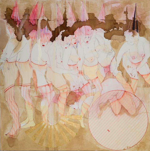 , 'Pijama Party,' 2017, Galleria Giovanni Bonelli