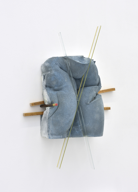 , 'Blue wall,' 2017, Galerie Christophe Gaillard
