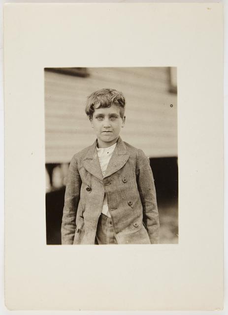 Lewis Wickes Hine, 'Jo Neal...', 1913, Photography, Gelatin silver print, Doyle