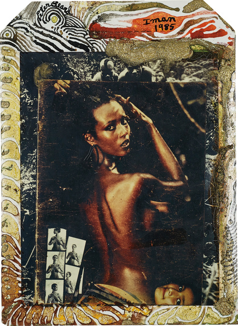 Peter Beard, 'Iman at Hoggers, Kenya', 1985, Phillips