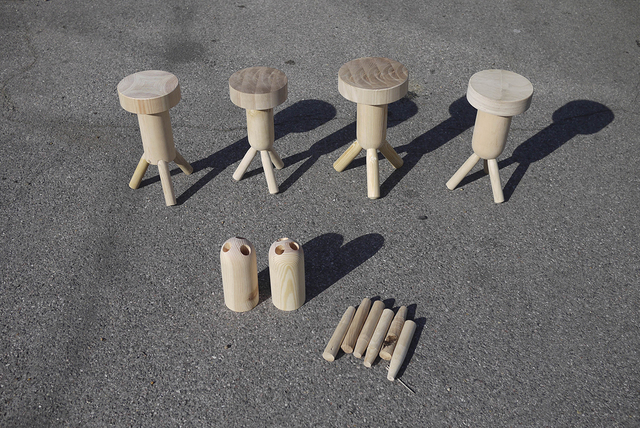 , 'Tokonoma Stool prototypes,' , Art Institute of Chicago