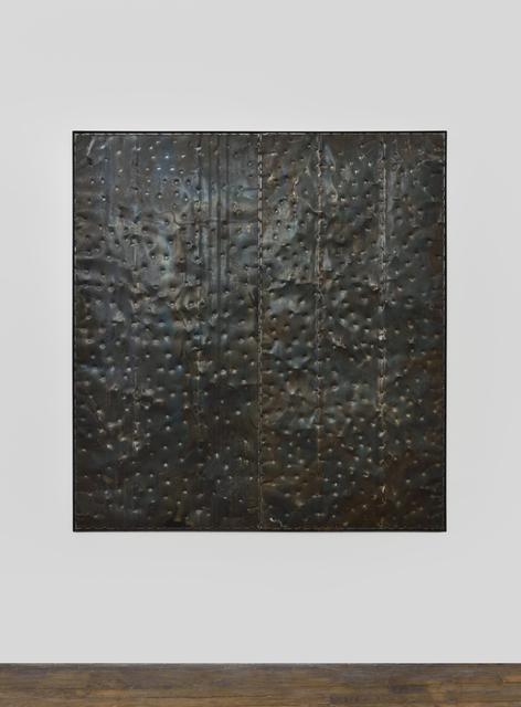 , 'Extrait (tôle,choc),' 2017, Galerie Thomas Bernard