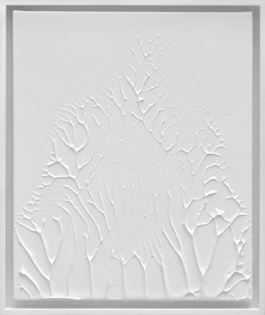 , 'Peinture Blanche F8 #1,' 2016, 22,48m2